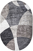 Ковер Bossan Parana Light 9120E-MAVI-A-GRI-Oval (1.6x2.3) -
