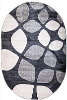 Ковер Bossan Parana Light 2980A-A-GRI-K-GRI-Oval (1.6x2.3) -