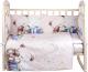 Комплект в кроватку Alis Счастливчик NEW 4 Мальчик (бязь) -