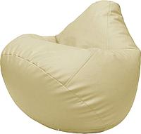 Бескаркасное кресло Flagman Груша Макси Г2.3-10 (светло-бежевый) -