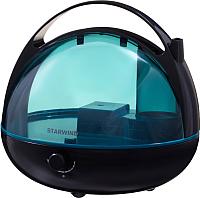 Ультразвуковой увлажнитель воздуха StarWind SHC3416 (коричневый/синий) -