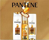 Набор косметики для волос PANTENE Интенсивное восстановление шампунь+бальзам+масло (250мл+200мл+100мл) -