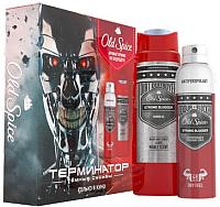 Набор косметики для тела Old Spice Odour Blocker Strong Slugger дезодорант+гель для душа 2 в 1 (150мл+250мл) -