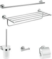 Набор аксессуаров для ванной и туалета Hansgrohe Logis Univ 41728000 -
