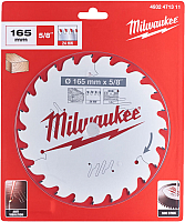 Пильный диск Milwaukee 4932471311 -