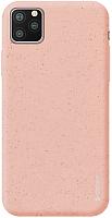 Чехол-накладка Deppa Eco Case для iPhone 11 Pro / 87274 (розовый) -