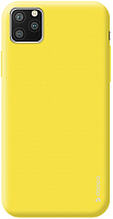 Чехол-накладка Deppa Gel Color Case для iPhone 11 Pro / 87239 (желтый) -