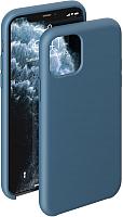 Чехол-накладка Deppa Liquid Silicone Case для iPhone 11 Pro / 87294 (синий) -