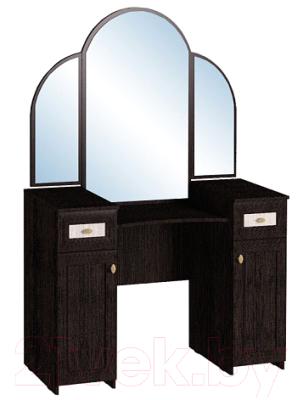 Туалетный столик с зеркалом Глазов Милана 1 (венге)