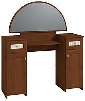 Туалетный столик с зеркалом Глазов Милана 2 (орех) -