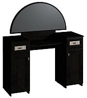 Туалетный столик с зеркалом Глазов Милана 2 (венге) -