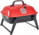 Угольный гриль GoGarden Picnic 36 / 50100 (красный) -