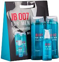 Набор косметики для тела и волос Белита-М JB 007 For Men гель д/душа тонизирующ.+гель п/бритья+шампунь (250г+75г+250г) -