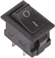 Выключатель клавишный Rexant ON-OFF Micro 36-2010 (черный) -