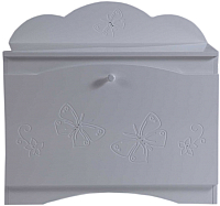 Ящик для хранения Лель Baby Sleep. Бабочки БИ 117 (белый, Д 050) -