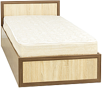 Односпальная кровать Астрид Мебель Юниор / ЦРК.ЮНР.01 (дуб сантана/дуб сонома) -