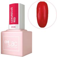 Гель-лак для ногтей E.Mi E.MiLac Роскошный красный LB008 (9мл) -