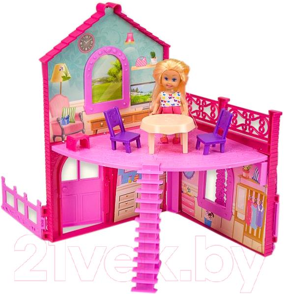 Купить Кукла с аксессуарами Qunxing Toys, Подружка с домиком / K899-101, Китай, пластик