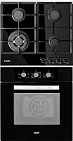 Комплект встраиваемой техники Exiteq F41MR + PFH640STGB-E/B -