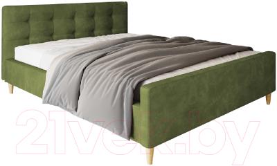 Двуспальная кровать Настоящая мебель