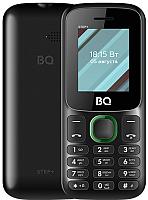 Мобильный телефон BQ Step+ BQ-1848 (черный/зеленый) -