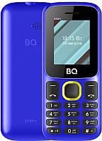 Мобильный телефон BQ Step+ BQ-1848 (синий/желтый) -