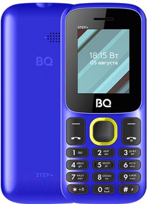 Мобильный телефон BQ Step+ BQ-1848 (синий/желтый)