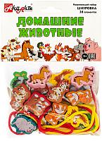 Развивающая игрушка Анданте Шнуровка. Домашние животные / RDI-D002a -