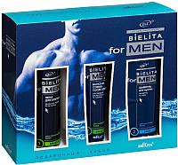 Набор косметики для лица и тела Belita For Men шампунь+бальзам+пена для бритья -
