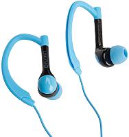 Наушники-гарнитура Platinet Sport PM1072BL Bluetooth (черный/синий) -