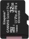 Карта памяти Kingston Canvas Select Plus 100R microSDHC (Class10) UHS-I U1 V10 A1 32GB (SDCS2/32GB) -