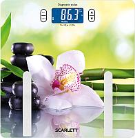 Напольные весы электронные Scarlett SC-BS33ED10 (SPA Orchid) -