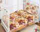 Комплект постельный в кроватку Fun Ecotex Мишка Тэдди / FE 10048 -