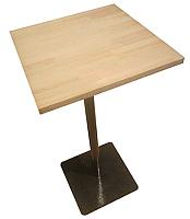 Обеденный стол Грифонсервис Loft СМ9 (черный/тик) -