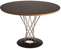 Обеденный стол Грифонсервис Loft Харитониус Стронг СМ16-1 (черный в золоте/палисандр) -