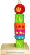 Развивающая игра Краснокамская игрушка Пирамидка Геометрия / ПИР-18 -