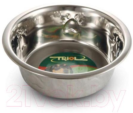 Купить Миска для животных Triol, 30261032 / 1616, Россия, нержавеющая сталь