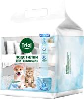 Одноразовая пеленка для животных Triol 30551002 / DP07 (24шт) -