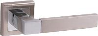 Ручка дверная VELA Perugia (белый никель/хром) -