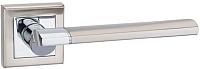 Ручка дверная VELA Liguria (белый никель/хром) -