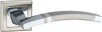 Ручка дверная VELA Cesena (белый никель/хром) -