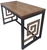 Обеденный стол Грифонсервис Loft Геонис СМ14 (черный/палисандр) -