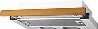 Вытяжка телескопическая Elikor Интегра 60П-400-В2Л (белый/дуб рустика) -