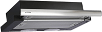 Вытяжка телескопическая Elikor Интегра 60П-400-В2Л (черный/нержавеющая сталь) -