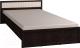 Полуторная кровать Глазов Милана 2 140x200 (венге) -