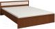Двуспальная кровать Глазов Милана 1 160x200 (орех) -