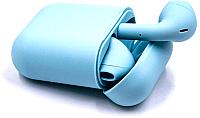 Наушники-гарнитура D&A i12s (голубой) -