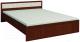 Двуспальная кровать Глазов Милана 5 180x200 (орех) -