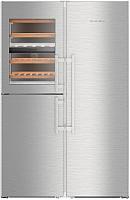 Холодильник с морозильником Liebherr SBSes 8486 -