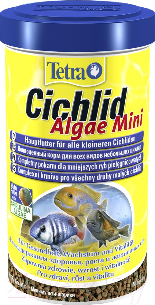 Купить Корм для рыб Tetra, Cichlid Algae Mini (500мл), Германия